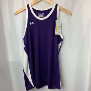 NWT Under Armour Purple Tank Top, Size L